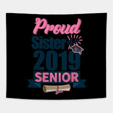 senior class of gift graduates school students sister proud