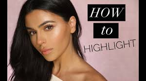everyday highlight makeup routine you