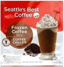 seattles best coffee chiller frozen