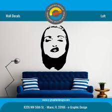 Silhouette Of Madonna Mural Wall Decal E Graphic Design Inc Facebook