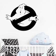 Ghostbusters Wall Decal Cartoon Comics Hero Vinyl Wall Stickers For Kids Room Bedroom Art Home Mural Decor Vinilos Paredes La073 Sticker For Kids Room Vinyl Wall Stickerswall Stickers For Kids Aliexpress