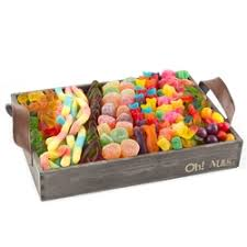 gift baskets conning jelly beans