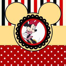 Divertidos Imprimibles Gratis De Minnie Mouse Rojo Minnie