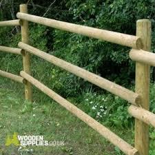 Half Round Poles Wooden Supplies