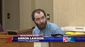 UPDATE   Convicted quadruple murderer Arron Lawson sentenced to death