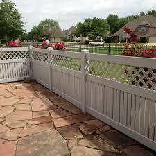 Midland Vinyl Fence Fencing Privacy Rail Picket Coweta Ok