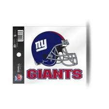 New York Giants Stickers Decals Bumper Stickers