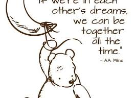 Classic Pooh Wall Decal Moon Star 18 00 Via Etsy Quotes At Repinned Net