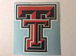 Amazon Com Craftique Texas Tech Red Raiders Set Of 2 2 Premium Die Cut Vinyl Decal Yeti Sports Outdoors