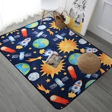 Space Universe Planet Cartoon Carpet For Living Room Soft Carpet Kids Room Cute Rugs For Bedroom Computer Chair Floro Mat Rug Carpet Aliexpress