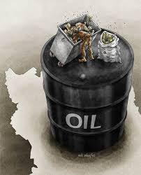 کاریکاتور روز - بدبختی هایی کشور نفت خیز ایران - مرد روز