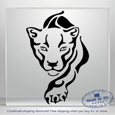 Tiger Decal Lion Sweet Puma Funny Auto Car Bumper Window Vinyl Sticker Laptop Ebay