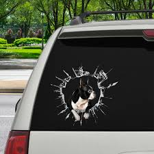 Get In It S Time For Shopping Boston Terrier Car Door Fridge La Follus Com