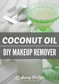 how to use coconut oil as a makeup remover