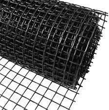 Plastic Garden Fencing 1m X 25m Black 20mm Holes Clematis Netting Mesh Ideal For Plant Pet Vegetable Protection And Climbing Plant Support Net Amazon Co Uk Garden Outdoors