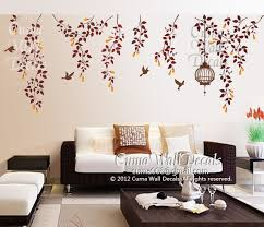 Tree Wall Decals Nature Bird Wall Decal By Cuma Wall Decals On Zibbet