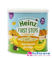 Bột ăn dặm Heinz ngũ cốc yến mạch chuối 7+