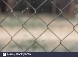 Blur Steel Fence Background Beautiful Line With Iron Of Thorn Texture Metal Net No People And Nice Design Stock Photo Alamy