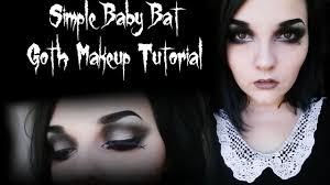 simple goth makeup tutorial saubhaya