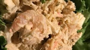 Making seafood salad - YouTube ...