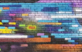 colorful wallpaper wall graffiti