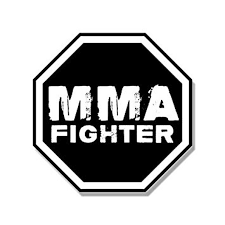 Octagon Shaped Mma Fighter Sticker Decal Martial Arts Fight Ufc 4 X 4 Inch Walmart Com Walmart Com