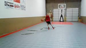 Dwight Becker Basketball Balance Attack Drill #1 - YouTube