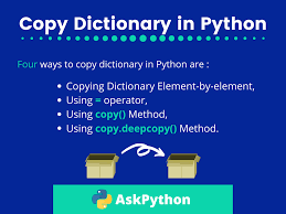 Copy a Dictionary in Python ...
