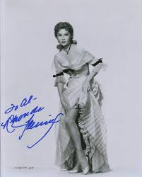 Rhonda Fleming Signed Spellbound Out of ...