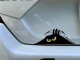 Funny Peeking Monster Decal Sticker Computer Truck Car Ebay