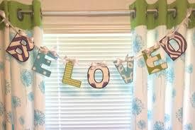 Alphabet Banner Fabric Nurseries Kids Rooms Weddings Baby Etsy Kids Room Nursery Fabric Letters