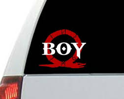 God Of War Decal Etsy