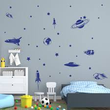 Shop Style And Apply Vinyl Wall Decal Stickers Space Journey Set Overstock 11866061