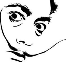 Salvador Dali Vinyl Decal Sticker Surrealism Drugs Watches Time Laptop Car Ebay