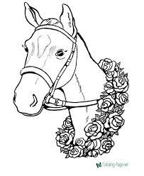 Horse Coloring Pages Met Afbeeldingen Kleurplaten Disney