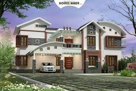luxury 6 bedroom kerala new house plan
