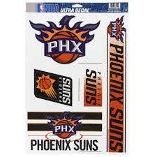 Phoenix Suns 11 X 17 Window Cling Sheet