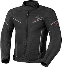 ixs ashton black motorcycle clothing
