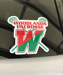 Twhslax On Twitter New Woodlands Lacrosse Car Decals Are Here Visit Https T Co Kwyjsryrmt Click On Online Store Represent