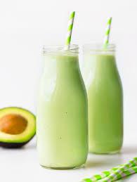 avocado smoothie just 5 ings