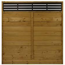 Barrette Privacy Panel Treated Wood Reversible Tanatone R Finish 73000672 Rona