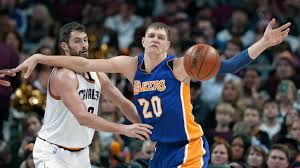 Lakers' Timofey Mozgov receives NBA championship ring in Cleveland – Daily  News