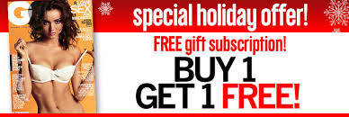 one gq gift subscription and get