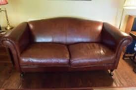 beautiful large leather gloucester sofa