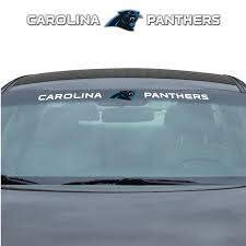 Team Promark Carolina Panthers Windshield Decal In The Exterior Car Accessories Department At Lowes Com