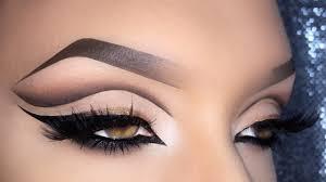 arabic cut crease eye makeup saubhaya