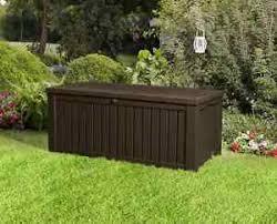 garden plastic outdoor storage box