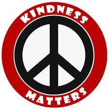 Kindness Matters Peace Sign Decorative Car Truck Decal Window Sticker Vinyl Die Cut Vacation Souvenir Travel Retro Vintage 1970 S Peace Van Weed Love Heart Dove Surf Music Festival Karma Walmart Com Walmart Com