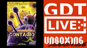 Pandemic Contagion - Unboxing - Pandemia Contagio - YouTube
