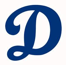 Decal Vinyl Truck Car Sticker Mlb Baseball Los Angeles Dodgers
